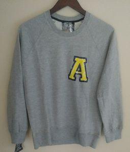 Markus Lupfer Gray College Letter A Sweatshirt